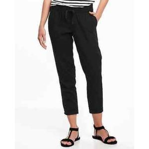 Linen drawstring pants by old navy